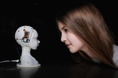 Ars Electronica Center / SEER: Simulative Emotional Expression Robot – Takayuki Todo (JP) (c) vog.photo