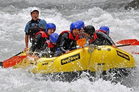Rafting (c) Feelfree Touristik Outdoor Erlebnis GmbH