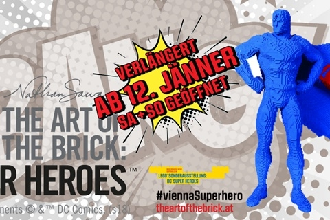 THE ART OF THE BRICK©: DC Super Heroes (c) THE ART OF THE BRICK©