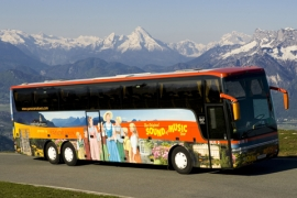 Original Sound of Music Tour® - Tourbus 3 (c) Salzburg Panorama Tours